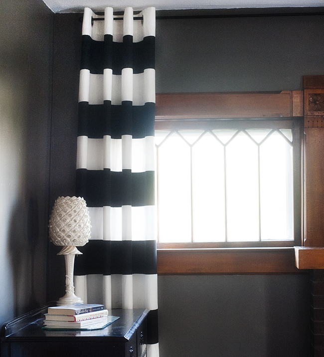 hpd stripe amazon curtain awning slp com gr white black curtains price half grommet blackout striped and drapes boch