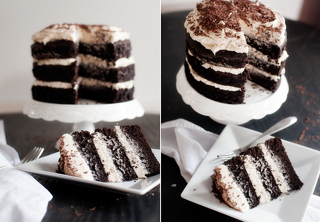 Guinness Chocolate Cake With Irish Cream Buttercream