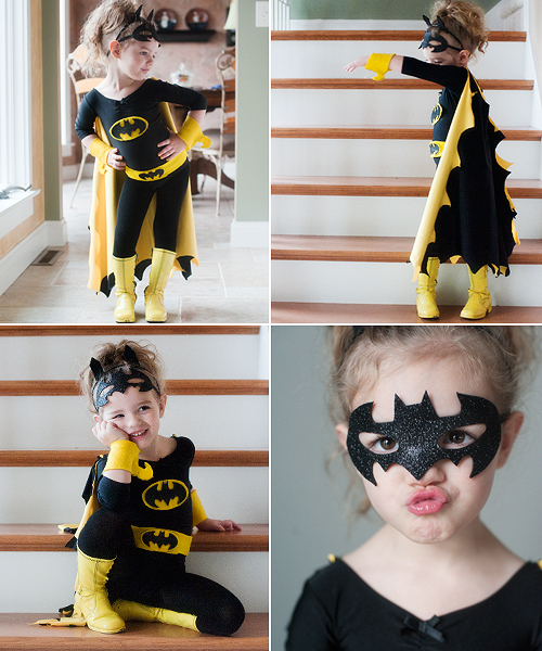 Diy batman and batgirl costume pretty plain janes solutioingenieria Image collections