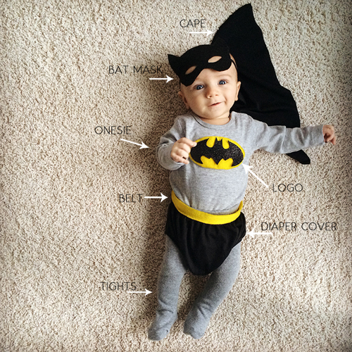 Diy batman and batgirl costume pretty plain janes solutioingenieria Gallery