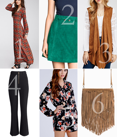 70s Trend Spring 2015