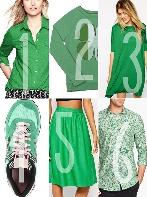 St Patrick's Day Attire 2015