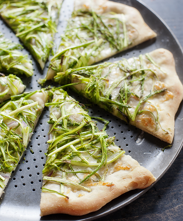 Shaved Asparagus And Lemon Pizza Recipes — Dishmaps