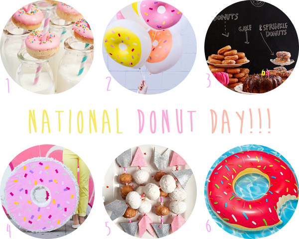 Cool Happy National Donut Day  Pretty Plain Janes
