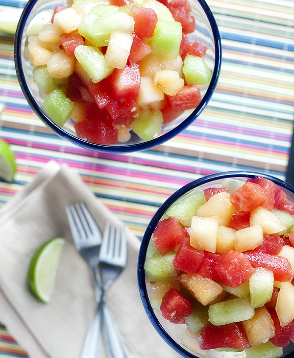 Margarita Melon Salad