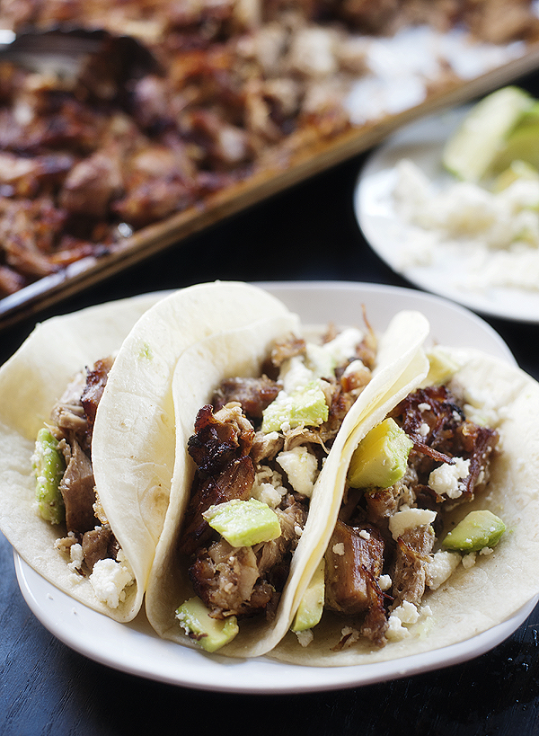 pork carnitas tacos | pretty plain janes