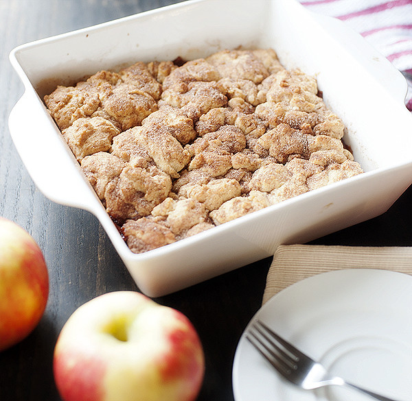 Apple Snickerdoodle Crumble