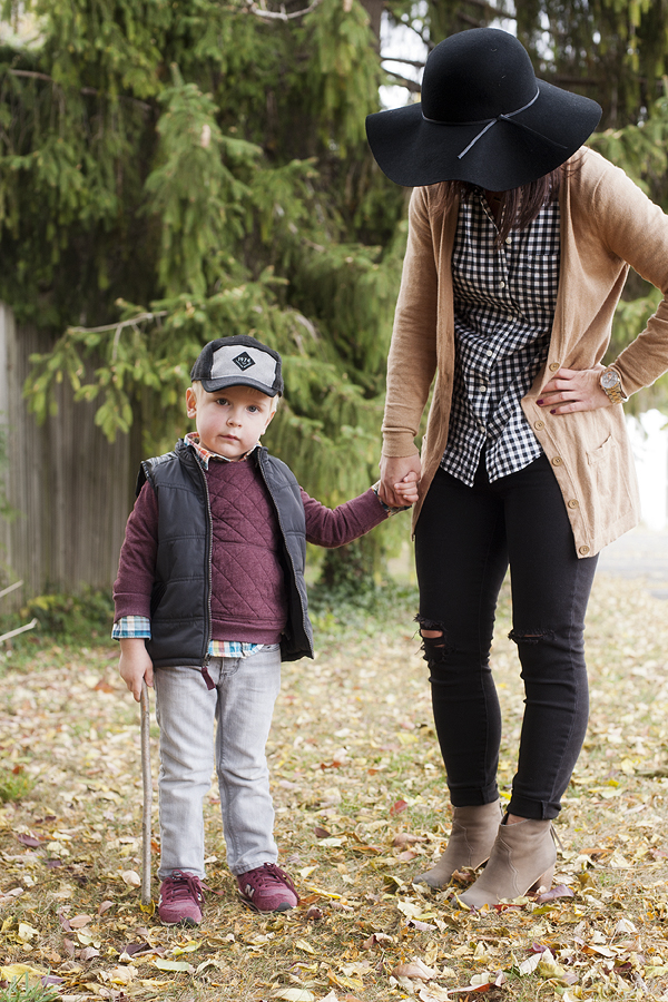 mommy and son style