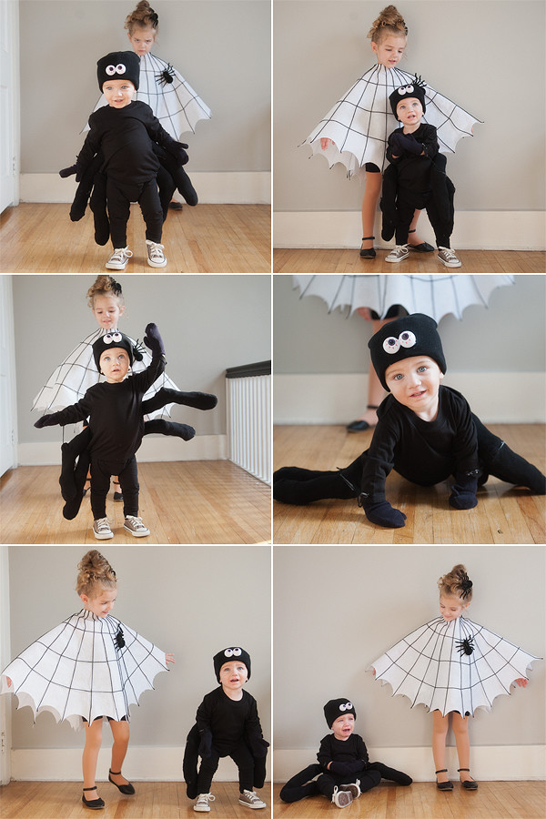 diy spider u0026 spider web costume  sc 1 st  pretty plain janes : spider halloween costumes  - Germanpascual.Com