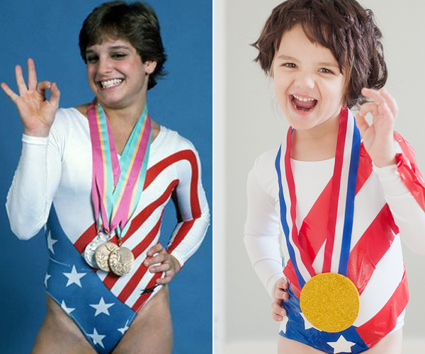 DIY Mary Lou Retton Costume
