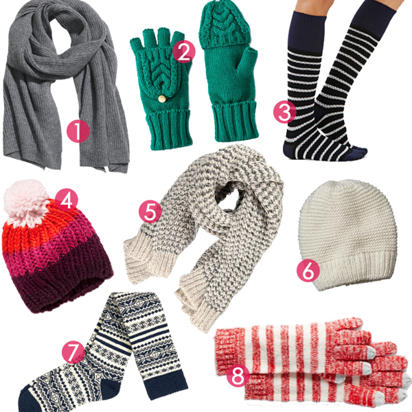 2015 Cold Weather Accessory Gifts