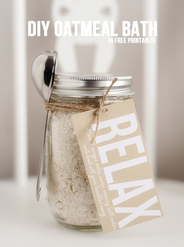 DIY Oatmeal Bath