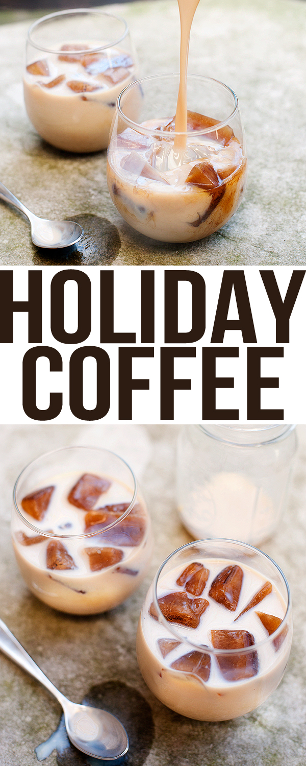 Holiday Iced Coffee
