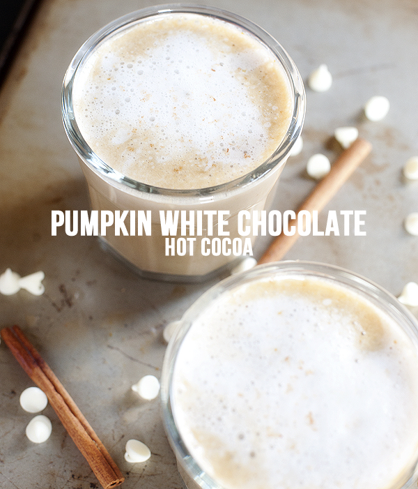 Pumpkin White Chocolate Hot Cocoa