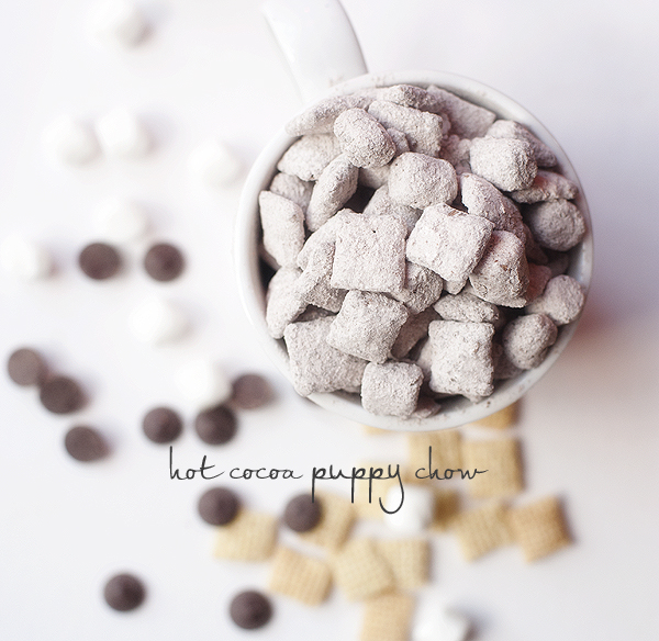 Hot Cocoa Puppy Chow