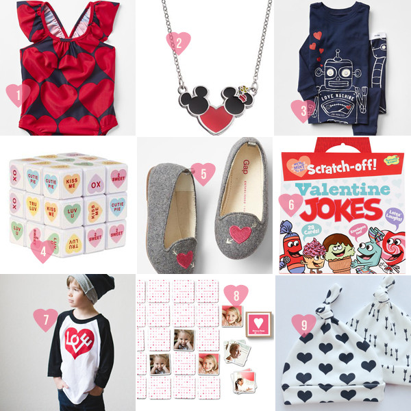 Valentine Gear For Kids