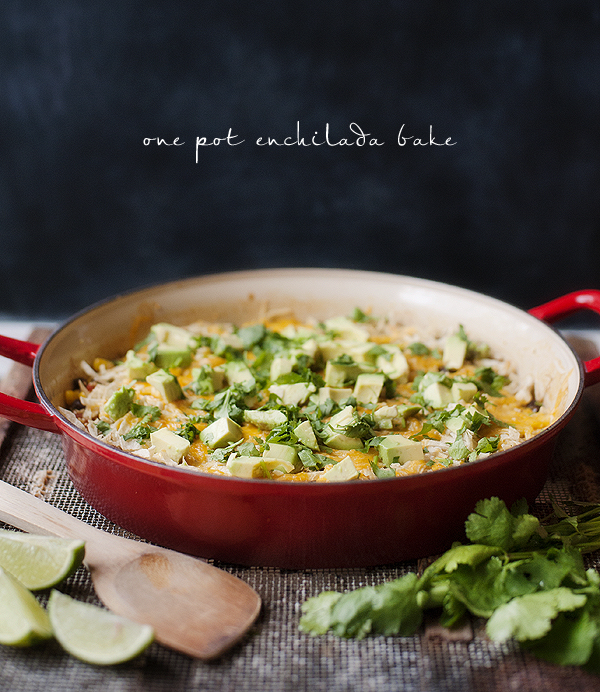 One Pot Enchilada Bake