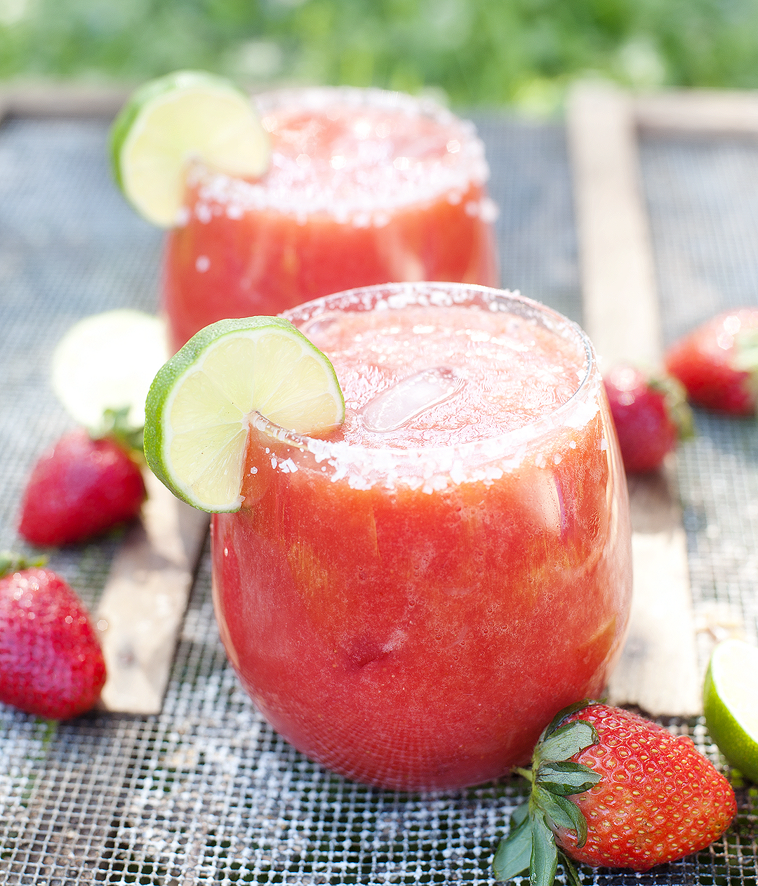 Strawberry Margaritas Pretty Plain Janes