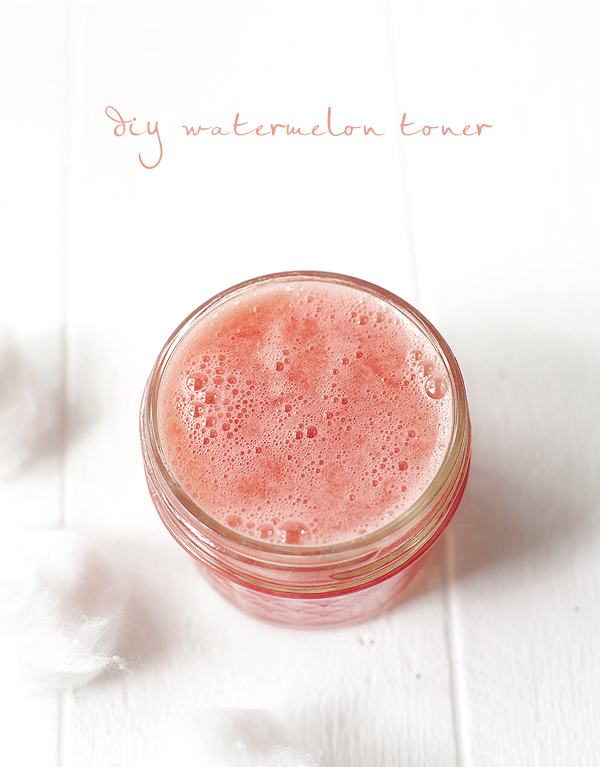 diy watermelon toner