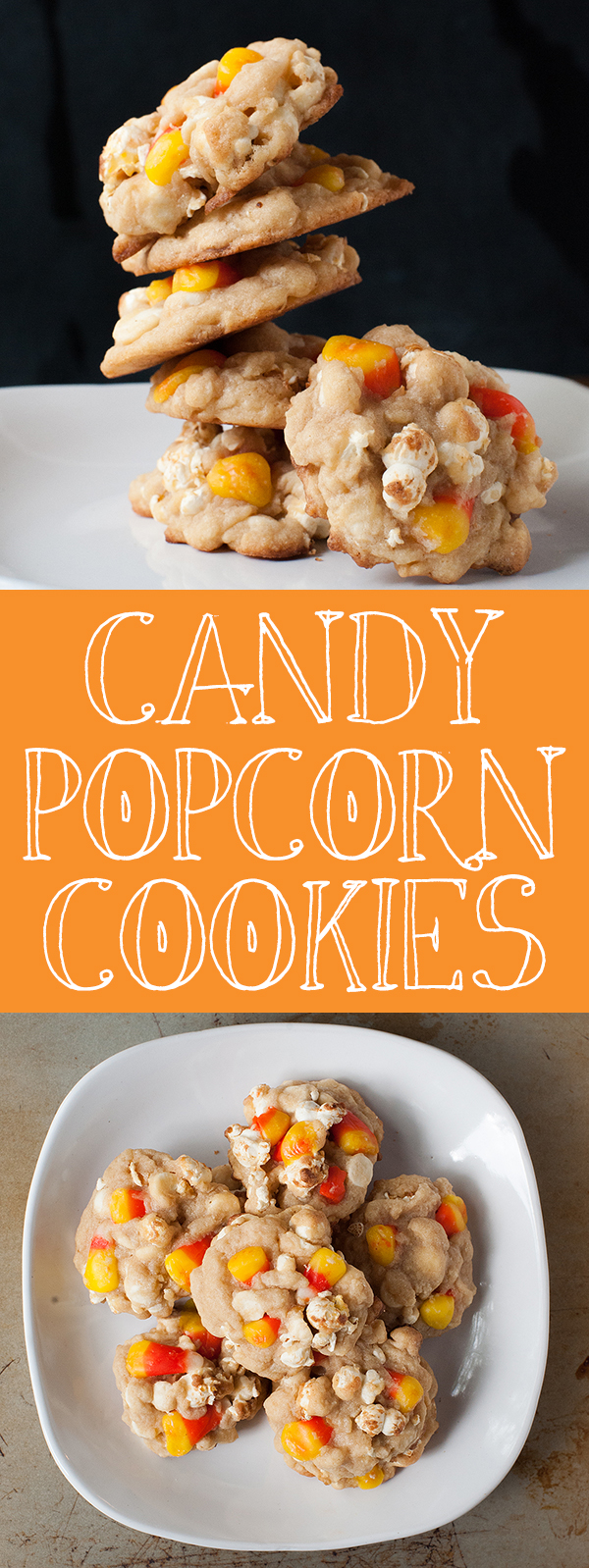 Candy Popcorn Cookies