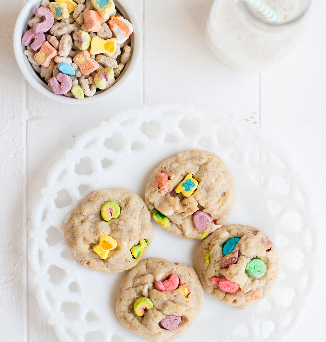 Lucky Charms Cereal Cookies
