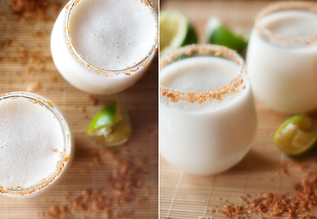 coconut margarita | www.prettyplainjanes.com